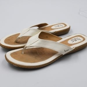 B.O.C. Faux Leather Thong Flip Flop Sandal